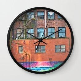 woodwards art Wall Clock