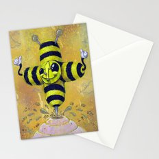 Bee Positive Stationery Cards