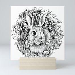 "Spring rabbit. From the series ""Seasons"" Mini Art Print"