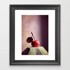 miss apple Framed Art Print
