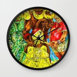 I FEEL PISSED ON Wall Clock