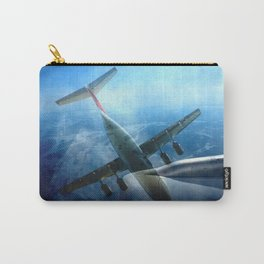 Aircraft collage Carry-All Pouch