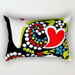 Galo de Barcelos I Rectangular Pillow