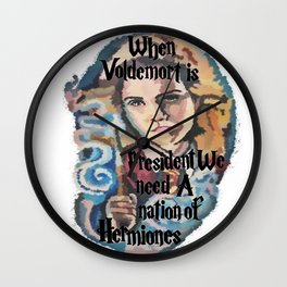 Nation of Hermiones Wall Clock