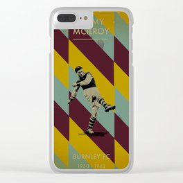 Burnley - McIlroy Clear iPhone Case