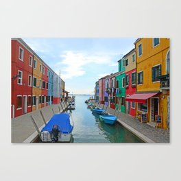 Lace Island - end of the street Canvas Print