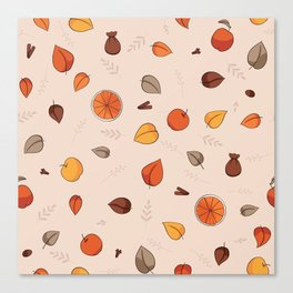 Apple spice ( Rose latte) Canvas Print