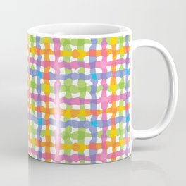 Punchy Plaid Coffee Mug