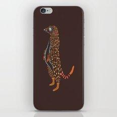 Abstract Meerkat iPhone & iPod Skin