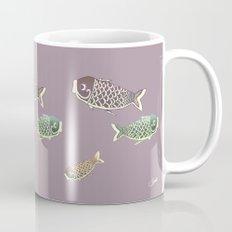 Koi Lavender Coffee Mug