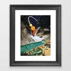 A DEDICATION / VISIONS Framed Art Print