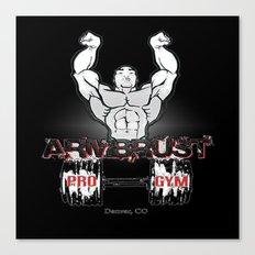 ARM BRUST PRO GYM Canvas Print