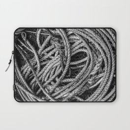 Coiled Rope Laptop Sleeve