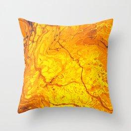 Lava is Lit Throw Pillow