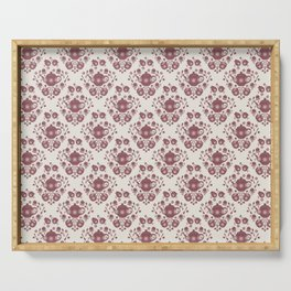 Afternoon Tea Damask Serving Tray
