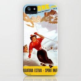 Limone Piemonte ski Italy iPhone Case