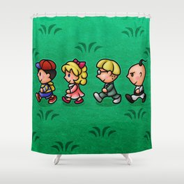 Earthbound Guys Shower Curtain