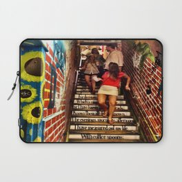 T.S. Eliot Stairs Laptop Sleeve