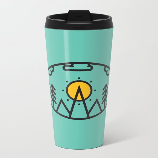 Awake Metal Travel Mug