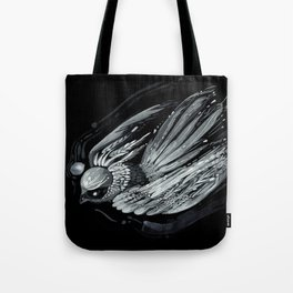 Flight in Midnight Tote Bag