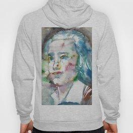 FRIEDRICH HOLDERLIN - watercolor portrait Hoody