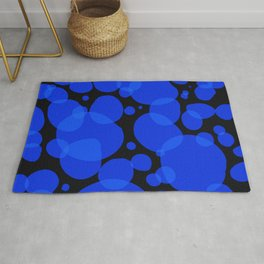Lava Lamp Blue Rug