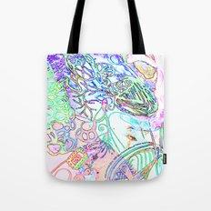 spec vertebraeyes Tote Bag