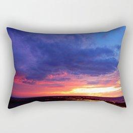 Evening's Face Rectangular Pillow