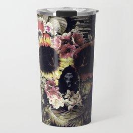 Garden Skull Travel Mug