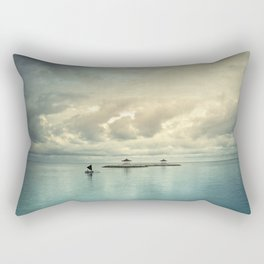 the art of silence Rectangular Pillow