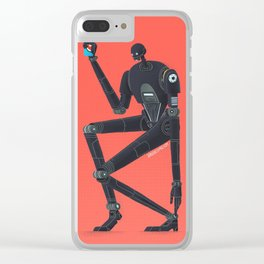 K2SO Clear iPhone Case
