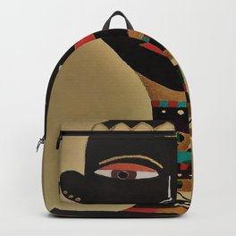 Ebony and Ivory Crown Backpack