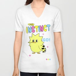 INSTINCTIVE TEAM Unisex V-Neck