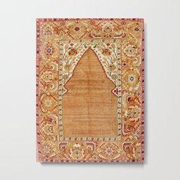 Transylvanian West Anatolian Niche Carpet Print Metal Print