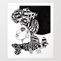 SANKOFA; GO BACK TO FETCH IT Art Print