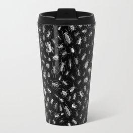 Beetlemania II B&W INVERT Travel Mug