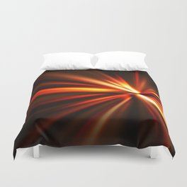explosion of a star Duvet Cover