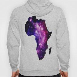Africa : purple pink fuchsia galaxy Hoody