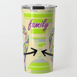 American Sign Language FAMILY Travel Mug