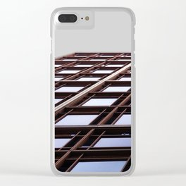 Architecture perspective - buildings Clear iPhone Case