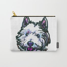 The Westie Dog Love of my Life Carry-All Pouch