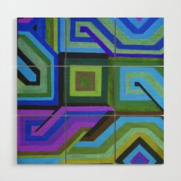 Love and Logic Colour Variation Wood Wall Art
