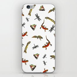 Let's go to the pond iPhone Skin