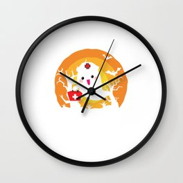 Spirit as a nurse Wall Clock