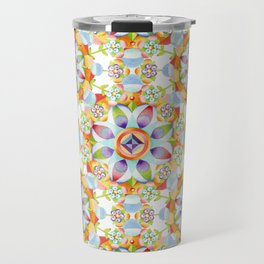Beaux Arts Flower Crown Travel Mug