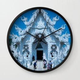 The White Temple (Wat Rong Khun), Chiang Rai, Thailand Wall Clock
