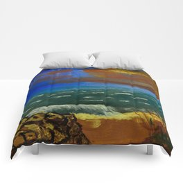 Rocky Beach Comforters