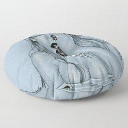 Blackroses 3 Floor Pillow