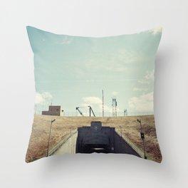 the dwight d eisenhower lock Throw Pillow