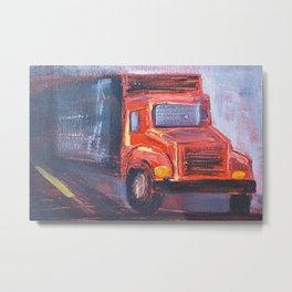 Keep Truckin' Metal Print